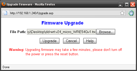 Installing DD-WRT on the Linksys WRE-54G - Jozerworx